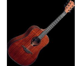 LAG T90D - Série Tramontagne, guitare Dreadnought acoustique, acajou, naturel
