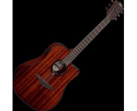 LAG T90DCE - Série Tramontagne, guitare Dreadnought électro-acoustique, acajou, naturel