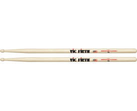 VIC FIRTH 7A - Paire de baguettes 7A, American Classic Hickory