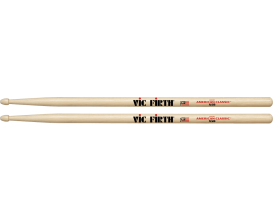 VIC FIRTH X5B - Paire de baguettes X5B, American Classic Extreme Hickory