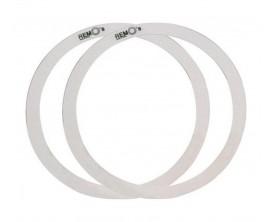 """REMO RO-0014-00 - Atténuateurs d'harmoniques Rem-o-ring set 14"""", 2 pieces (1"""" et 1""""1/2) pour Tom/ Caisse claire"""