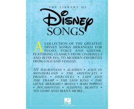 The Library of Disney Songs (PVG) - Hal Leonard