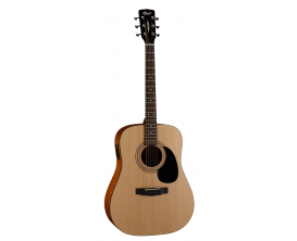 CORT AD810E OP2 - Guitare dreadnought éléctro-acoustique débutant, table épicéa, corps acajou, naturel open pores