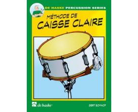 LIBRAIRIE - Méthode de Caisse Claire 1 (Avec liens Audio) - G. Bomhof - De Haske