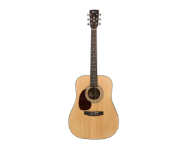 CORT Earth 70 LH OP2 - Dreadnought GAUCHER, Table Epicéa Massif / corps acajou, Naturel open pore