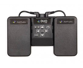 AIRTURN BT-200 DUO - Transmetteur sans-fil Bluetooth Double Pedale pour ordinateur ou tablette