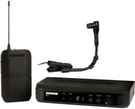 SHURE BLX14E/B98 - Professional Wireless Instrument Microphone (Beta 98H/C)