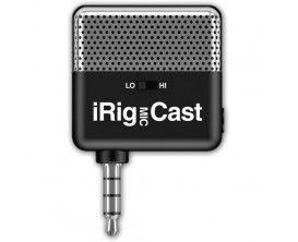 IK MULTIMEDIA iRig MIC Cast - Micro ultra-compact pour iPhone, iPod touch, iPad et Android
