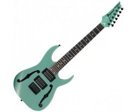 IBANEZ PGMM21-MGN - Guitare Electrique 3/4 Mikro Signature Paul Gilbert, Metallic Light Green (gigbag Mikro optionnel)