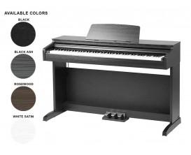 MEDELI DP260 BKA - Piano meuble numérique, Black Ash
