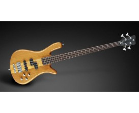 WARWICK RB Streamer NT I 4 HV THP CHR - Basse Rockbass Streamer Neck Thru 4 cordes, Honey Violin High Polish