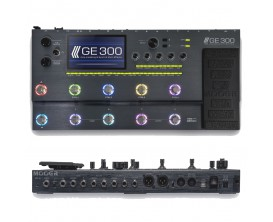 MOOER - GE 300 - Pédalier Multi-effets guitare à modélisations Professionnel avec looper 30 mns et ToneCapture