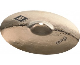 "STAGG DH-SM10B - Cymbale Splash Medium DH brillante 10"" à double martelage"