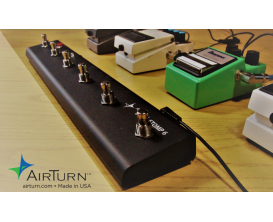 AIRTURN STOMP 6 - Transmetteur sans-fil Bluetooth à 6 boutons pour tablette ou ordinateur