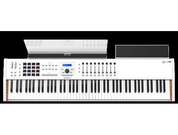 arturia keylab 88 mkii wh clavier ma tre toucher lourd fatar 88 notes blanc seconde