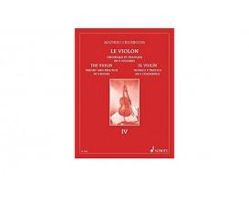 Le violon Théorique et Pratique Volume 4 - Mathieu Crickboom, Ed. Schott Music (copie)