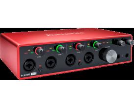 FOCUSRITE Scarlett 3 18i8 - Interface Audio 18 In / 8 Out 3ième génération