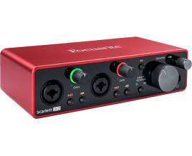 FOCUSRITE Scarlett 3 2i2- Interface audio 2 in / 2 out, 3ième génération