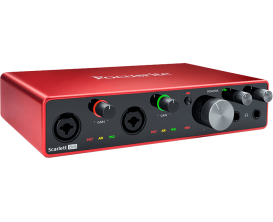 FOCUSRITE Scarlett 3 8i6 - Interface audio 8 in / 6 out, 3ième génération