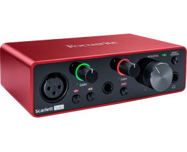 FOCUSRITE Scarlett 3 SOLO - Interface audio Solo 2 In / 2 Out, 3ième génération