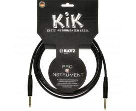 KLOTZ KIKKG1.5PPSW - KIK Câble Instrument 1.5 m D/D, fiches jack métal