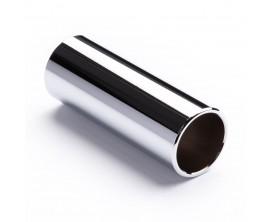DUNLOP 320 - Bottleneck acier chromé, Large long (22x25,4x60mm)