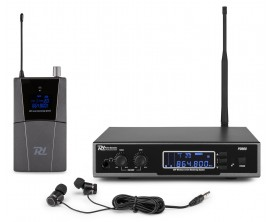 POWER DYNAMICS PD800 - In ear Monitoring System UHF