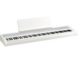 KORG B2 WH - Piano Compact 88 notes, Toucher lourd, système HP amélioré 2x15w, USB, Blanc