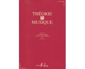 LIBRAIRIE -Théorie de la musique - Danhauser - Editions Lemoine