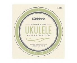 D'ADDARIO EJ65S - Jeu de cordes Ukulélé Soprano