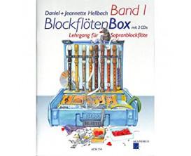 LIBRAIRIE - Hellblock David - Blockfloten Box - Bend 2+2 cd's - Hal Leonard