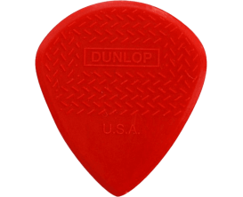 DUNLOP 471R3N - Sachet de 24 médiators Jazz III Rouge, Grip, petit modèle