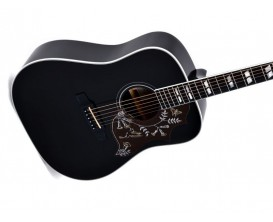 SIGMA SG5 - Guitare Dreadnought, Table sapin, BK (sans housse)