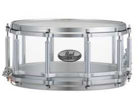 PEARL CRYSTAL BEAT - Caisse Claire seamless acrylique 14x6,5 - Finition ultra clear.