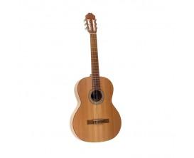 JUAN SALVADOR 1C - Guitare Classique 4/4, Table cèdre massif, corps pin, Naturel mate