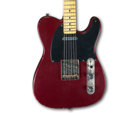 MAYBACH Teleman T61 Red Rooster Aged CS - Guitare Custom Shop type Tele , Corps Sugar Pine, Manche érable 1 pièce, Touche Paliss