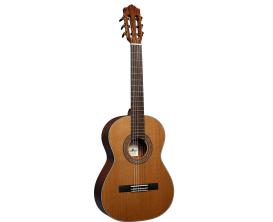 SANTOS Y MAYOR GSM 70C3 - Guitare classique 3/4, table massive cèdre
