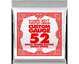 ERNIE BALL CUSTOM GAUGE 1152 - Nickel Steel - corde à l'unité 0.