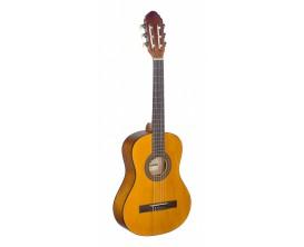 STAGG C410 M NAT - Guitare classique 1/2 de couleur naturelle avec table en tilleul - Finition Naturelle
