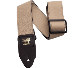 ERNIE BALL 4136 - Sangle Ernie Ball en cuir - Tan