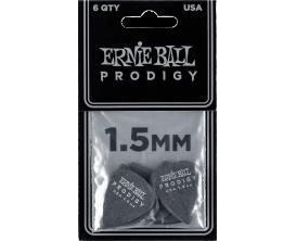 ERNIE BALL - AEB 9199 - Sachet de 6 noir standard 1,5mm