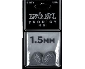 ERNIE BALL - AEB 9200 Sachet de 6 noir mini 1,5mm