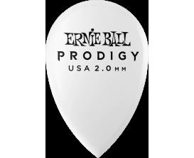 ERNIE BALL - AEB 9336 Sachet de 6 blanc larme 2mm