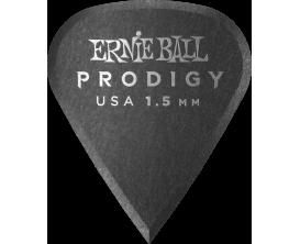 ERNIE BALL - AEB 9335 Sachet de 6 noir affûté 1,5mm
