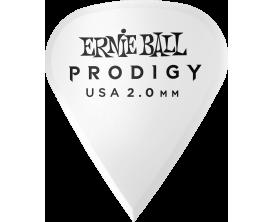 ERNIE BALL - AEB 9341 Sachet de 6 blanc affûté 2mm