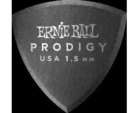ERNIE BALL - AEB 9331 Sachet de 6 noir bouclier 1,5mm