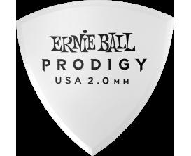 ERNIE BALL - AEB 9337 Sachet de 6 blanc bouclier 2mm