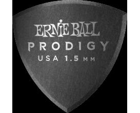 ERNIE BALL - AEB 9332 Sachet de 6 noir bouclier large 1,5mm