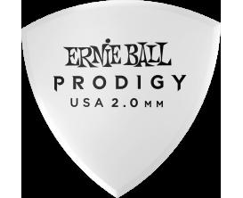 ERNIE BALL - AEB 9338 Sachet de 6 blanc bouclier large 2mm