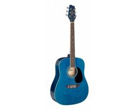 STAGG SA20D 3/4 BLUE - GT.AC.3/4 DREADNOUGHT-BLEU